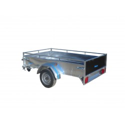 Justomar 1 essieu sans frein 750 kg 2m25 x 1m36