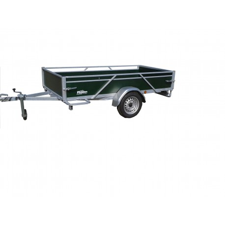 Rodéo bois 1 essieu sans frein 750 kg 2m50 x 1m23